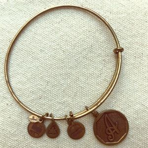 Alex and Ani Bracelet, Initial A